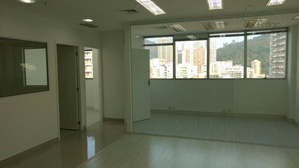 Sala Comercial - Rua Voluntários da Pátria - Locação - Botafogo