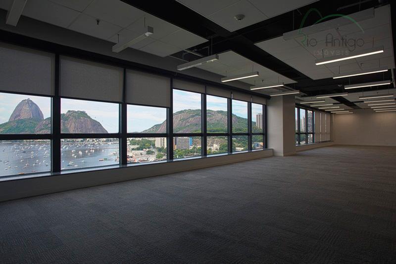 Locação Laje Corporativa Botafogo Business Center, Praia de Botafogo, RJ.
