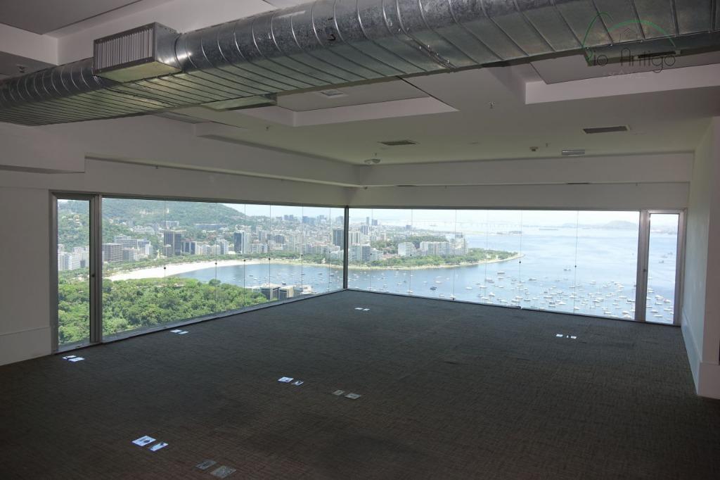 botafogo excelente conjunto comercial no edifício rio sul center - torre do rio sul com total...