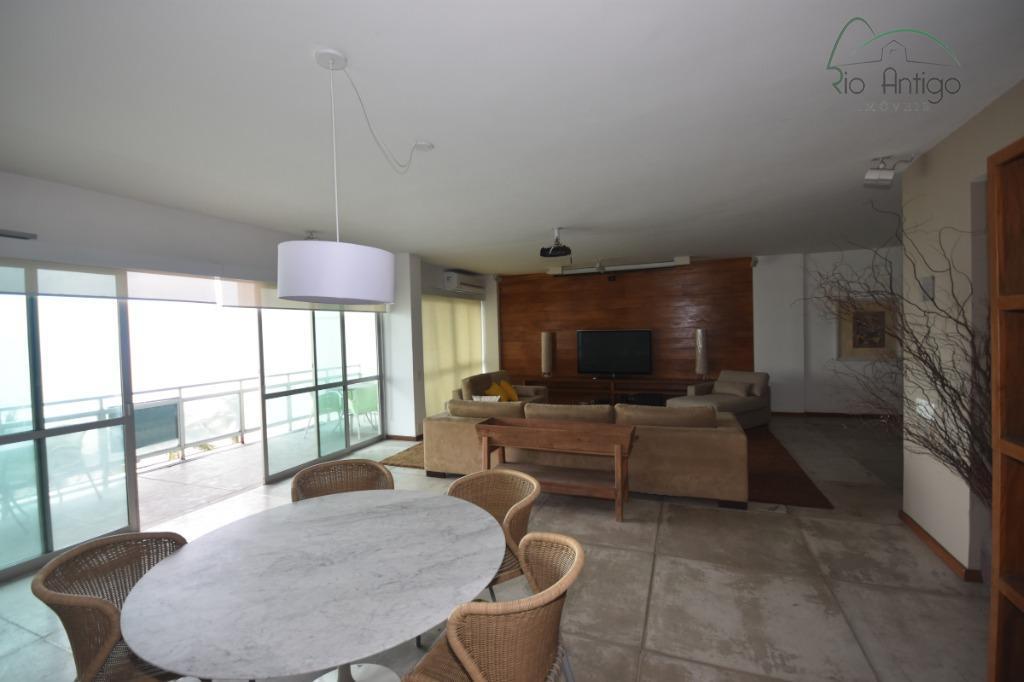Apartamento - Avenida Vieira Souto - Locação - Ipanema