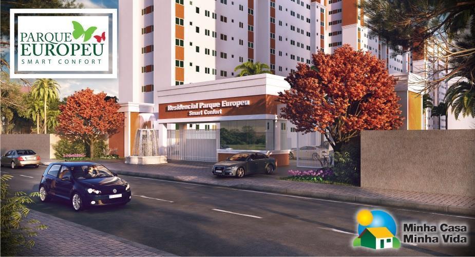 Apartamento residencial à venda Minha Casa Minha Vida, Carvalho, Itajaí.