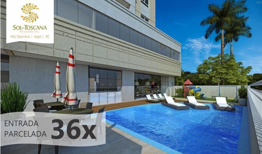 Apartamento residencial à venda, Vila Operária, Itajaí.