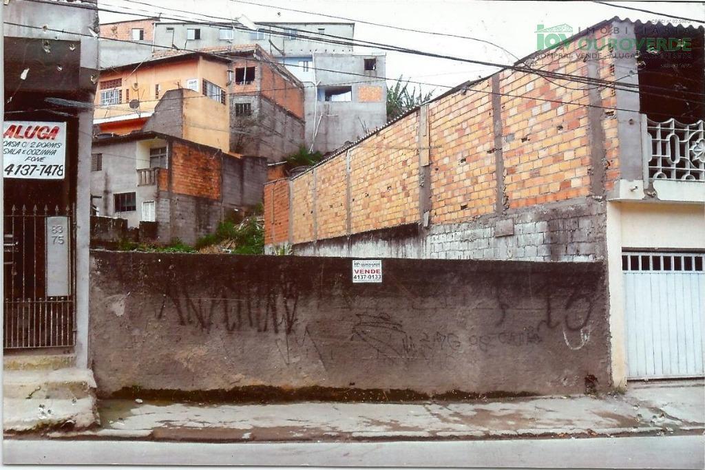 Terreno residencial à venda, Jardim Dom José, Embu das Artes.