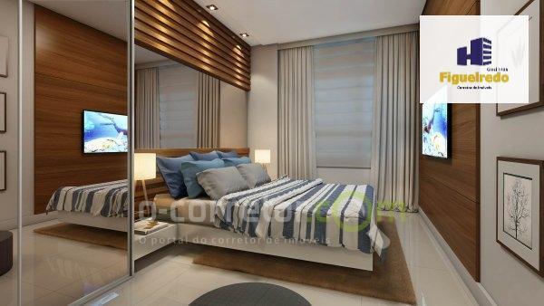 Apartamento com 2 dormitórios à venda, 57 m² por R$ 350.000 - Bessa - João Pessoa/PB