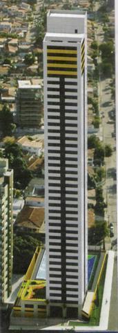 Apartamento residencial à venda, com 04 qtos em Miramar, João Pessoa - AP0315.