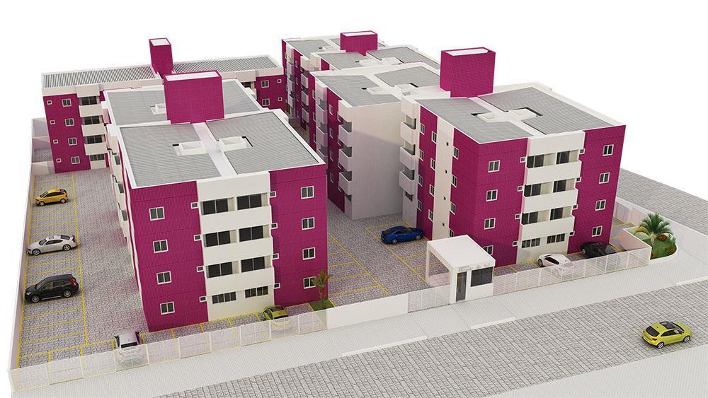 Apartamento residencial à venda, Mangabeira, João Pessoa - AP2462.