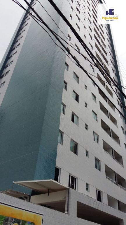 Apartamento residencial para venda e locação todo projetado, Manaíra, João Pessoa - AP3732.
