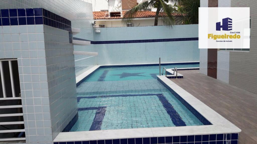 Apartamento com 2 dormitórios para alugar, 57 m² por R$ 1.200,00/mês - Jardim Cidade Universitária - João Pessoa/PB