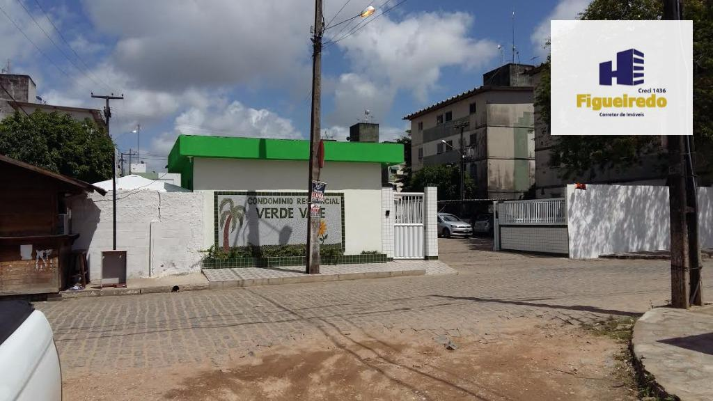 Apartamento  residencial com 02 qtos,sala,coz e wcs à venda, Ernesto Geisel, João Pessoa.