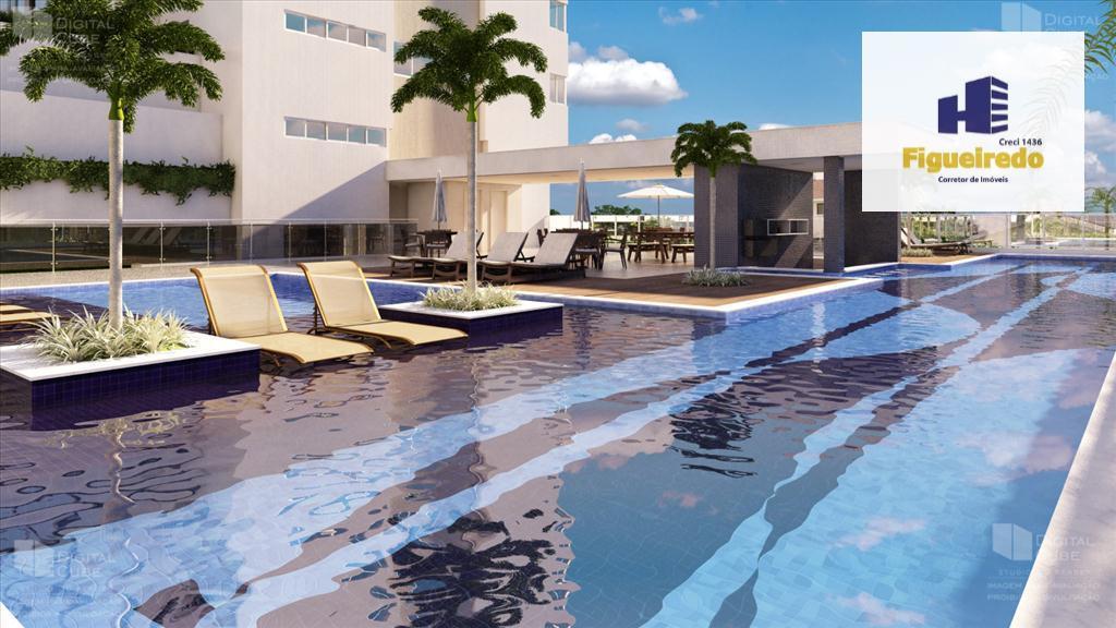 Apartamento  residencial com 3 qtos s/02 suites e 2 vagas de auto à venda, Manaíra, João Pessoa.