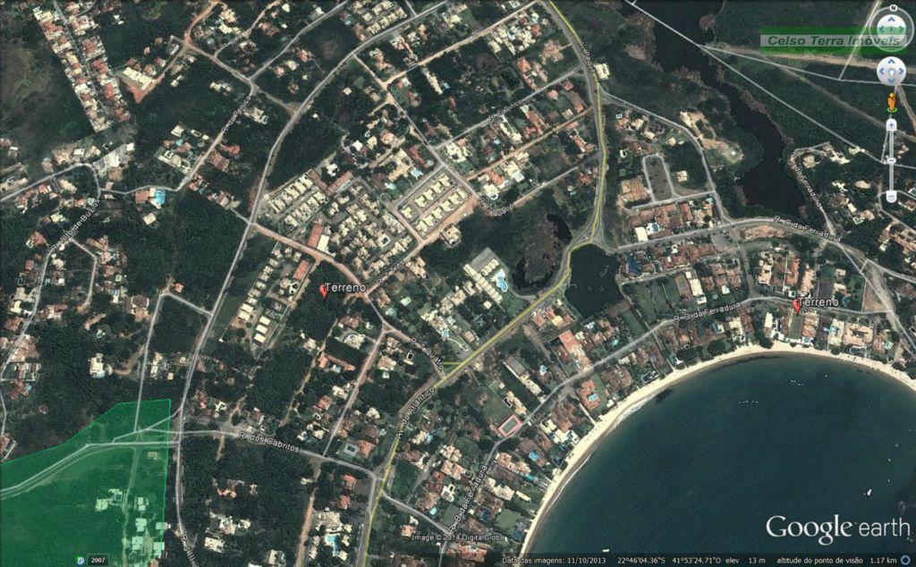 Terreno à venda em Condomínio, Praia da Ferradura, Búzios.