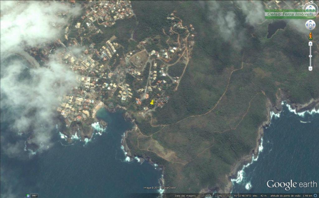 Lindo terreno com 931m2, com vista para o mar!