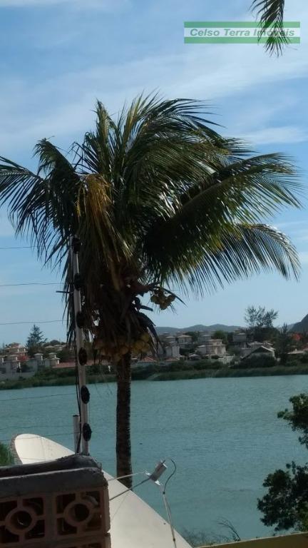 Obra em andamento! Projeto aprovado! Vista da lagoa de Geribá!