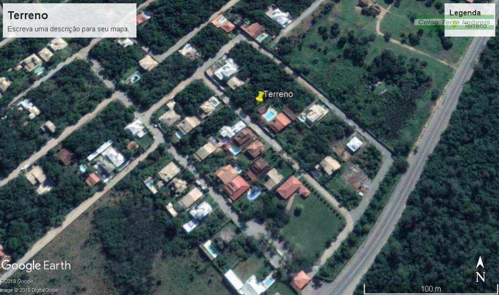 Terreno à venda, 450 m² por R$ 110.000 - Caravela - Armação dos Búzios/RJ