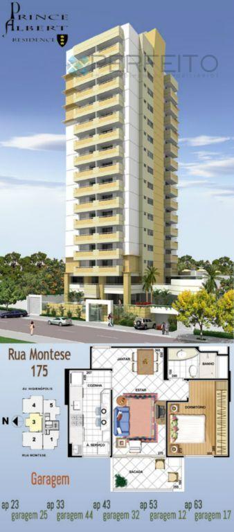 Apartamento residencial à venda, Jardim Higienópolis, Londrina.