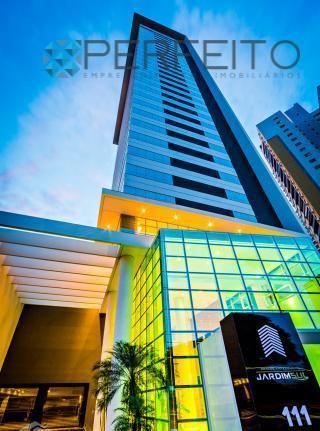 Sala comercial para locação, Gleba Palhano, Londrina - SA0045.