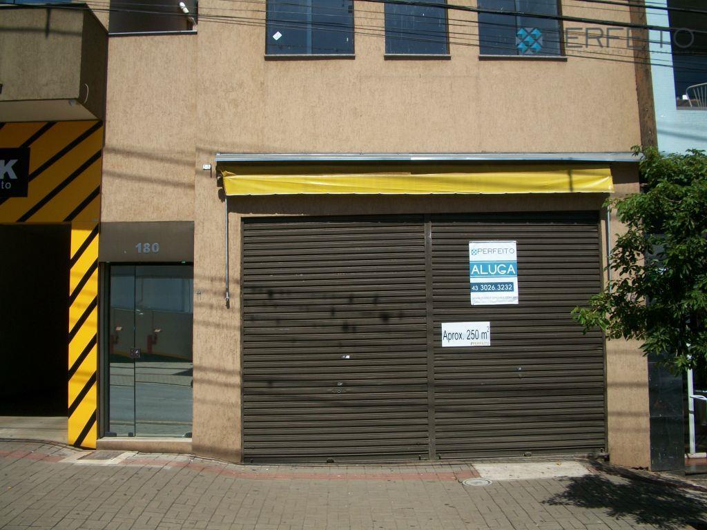 Loja na Rua Minas Gerais para locação, Centro, Londrina - LO0001.