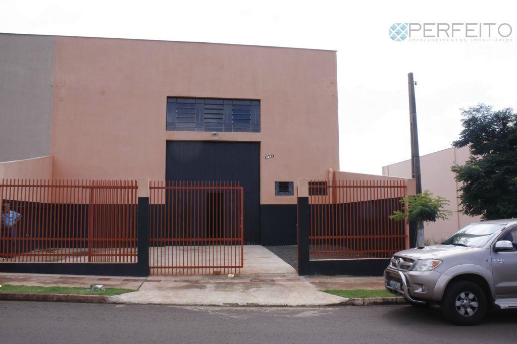 Barracão  comercial para locação, Parque Residencial João Piza, Londrina.