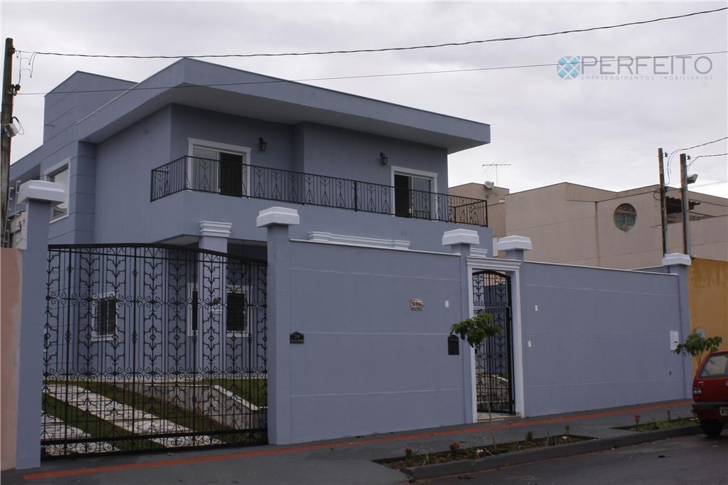 Sobrado residencial para venda e locação, Parque Residencial Alcântara, Londrina - SO0112.