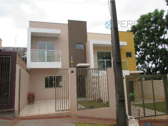 Sobrado residencial para venda e locação, Conjunto Residencial Itamaraty, Londrina.