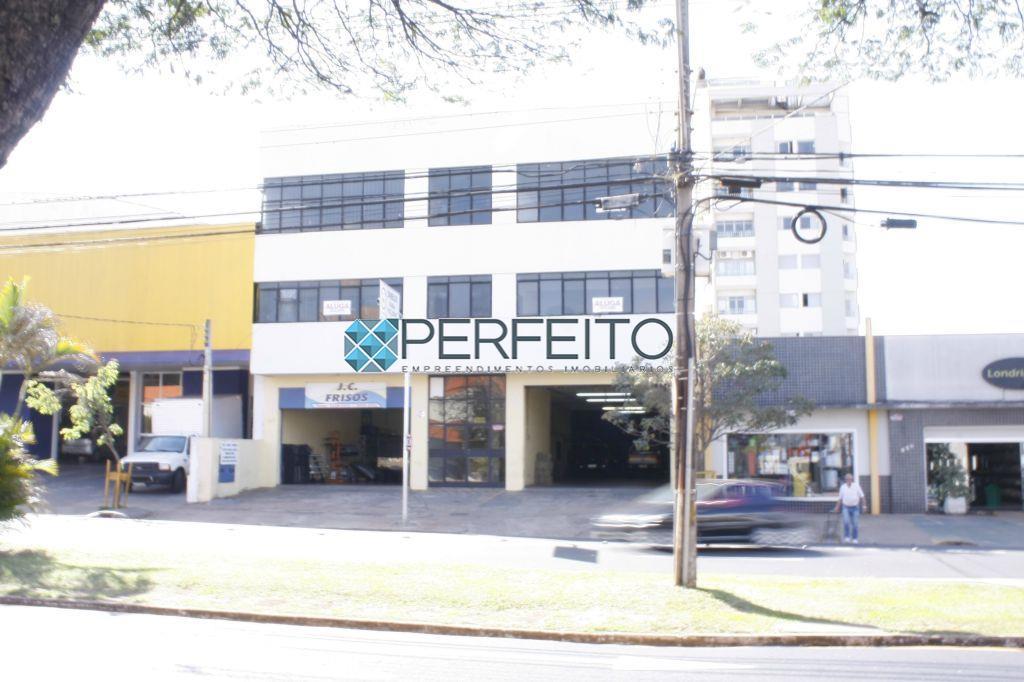 Sala comercial para locação, Jardim Shangri-la A, Londrina - SA0064.