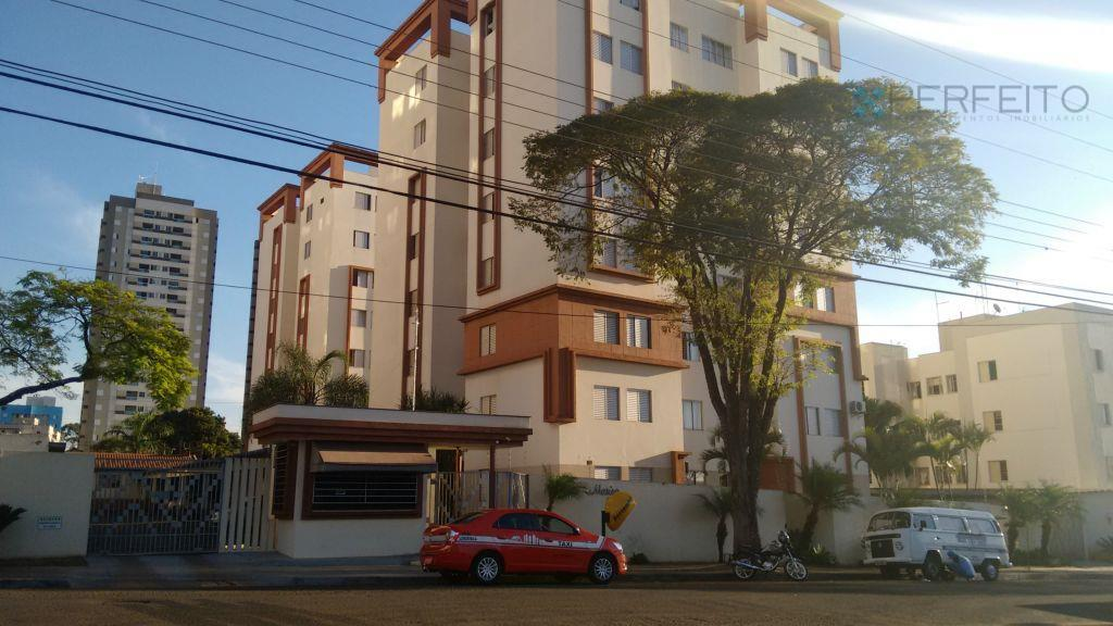 Apartamento residencial para venda e locação, São Vicente, Londrina - AP0691.
