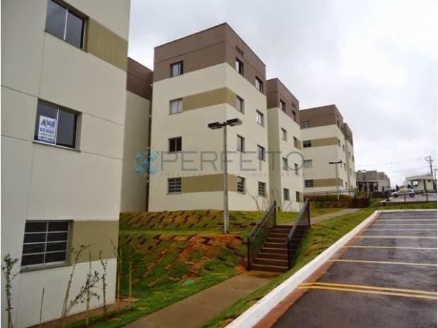 Apartamento residencial para locação, Conjunto Residencial Marajoara, Londrina - AP0701.