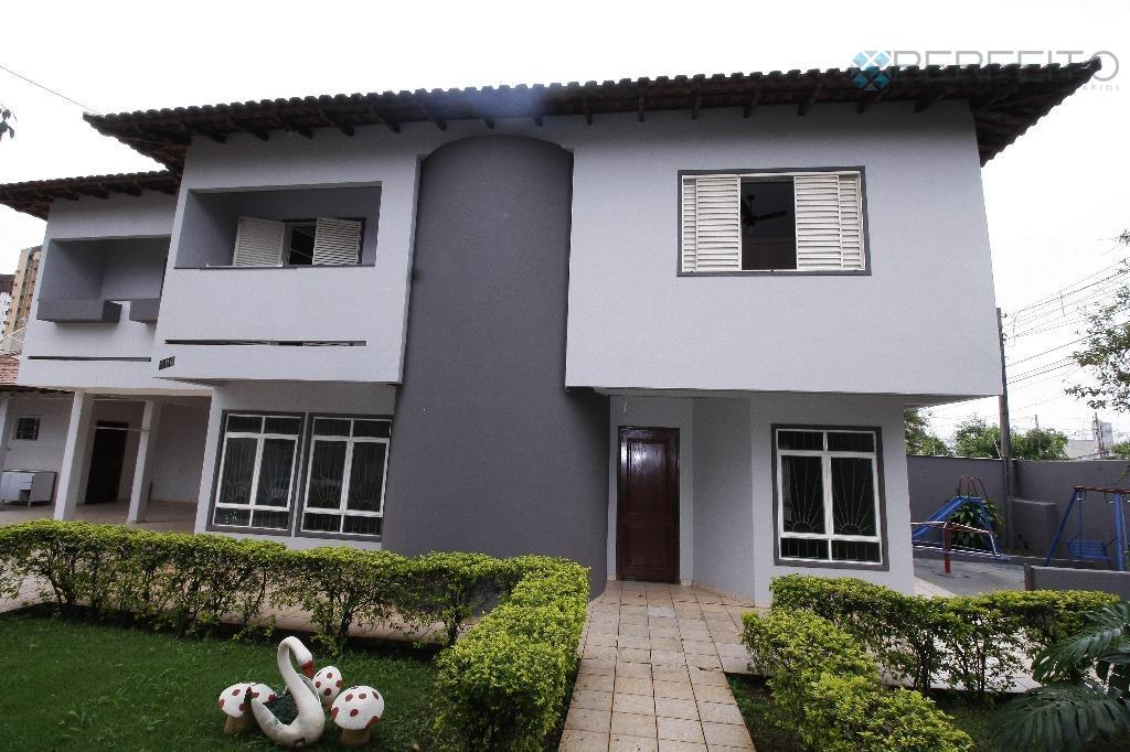 Sobrado residencial para venda e locação, Petrópolis, Londrina - SO0125.