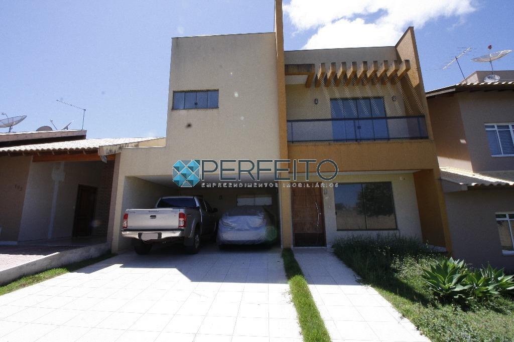 Sobrado residencial para venda e locação, Aragarça, Londrina - SO0124.