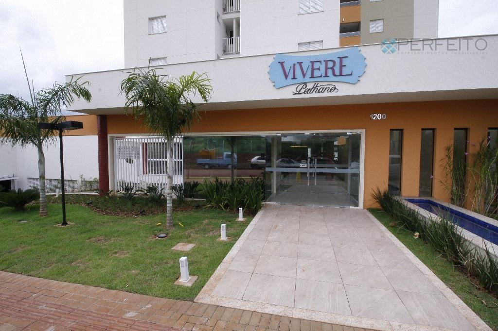 Apartamento residencial para locação, Gleba Palhano, Londrina.