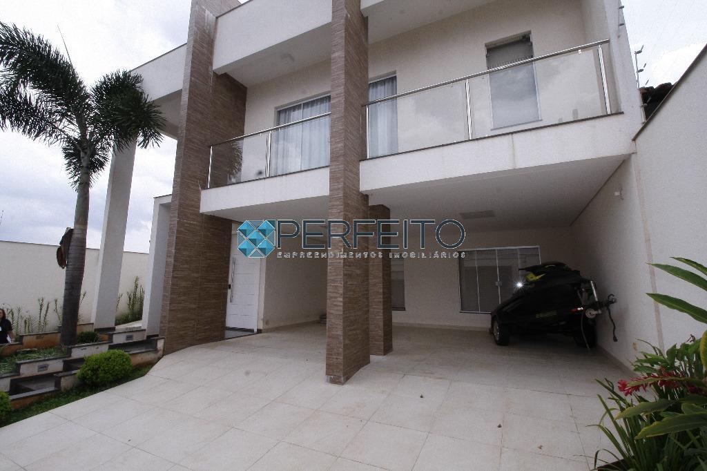 Sobrado residencial para locação, Parque Residencial Alcântara, Londrina - SO0128.