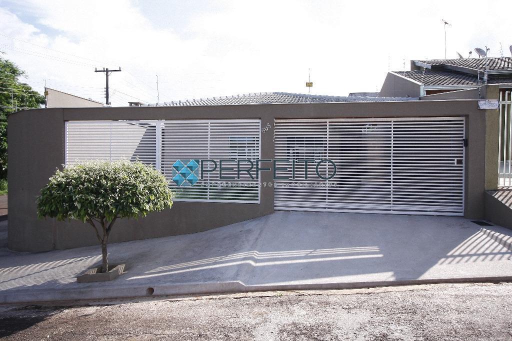Casa residencial para venda e locação, Jardim Burle Marx, Londrina - CA0277.