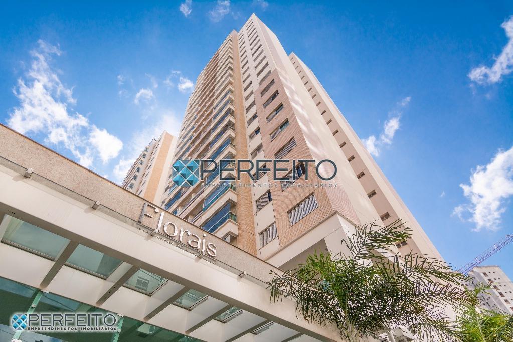 Edifício Forais Eco Resort, Apartamento para locação, Gleba Palhano, Londrina. Ap0957. Perfeito Empreendimentos Imobiliários