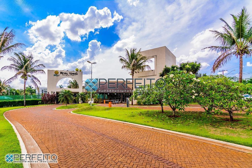 Terreno á Venda, Royal Tennis Residence & Resort, Gleba Palhano - Londrina - Pr. Perfeito Empreendimentos Imobiliários