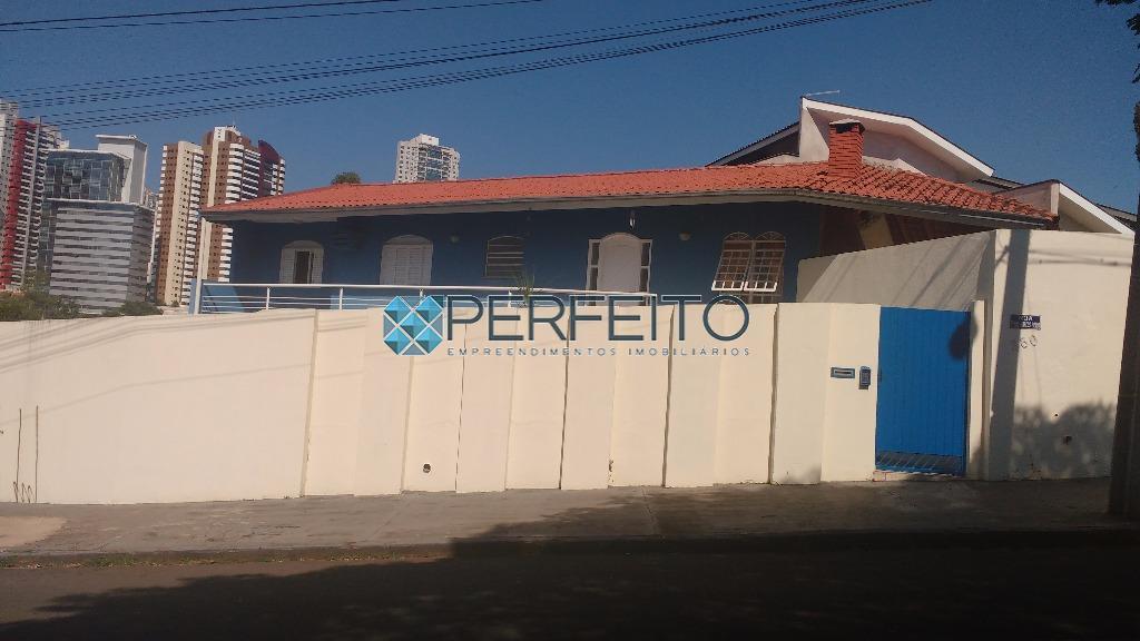 Casa com 4 dormitórios para alugar, 270 m² por R$ 5.000/mês - Lima Azevedo - Londrina/PR