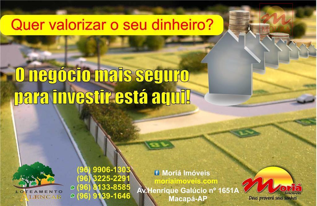invista bem o seu dinheiro. lotes residenciais medindo 10x30. titulados e registrados em cartório. localizado no...