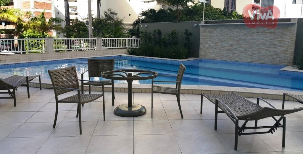 Apartamento à venda, Meireles, Fortaleza - AP4097.