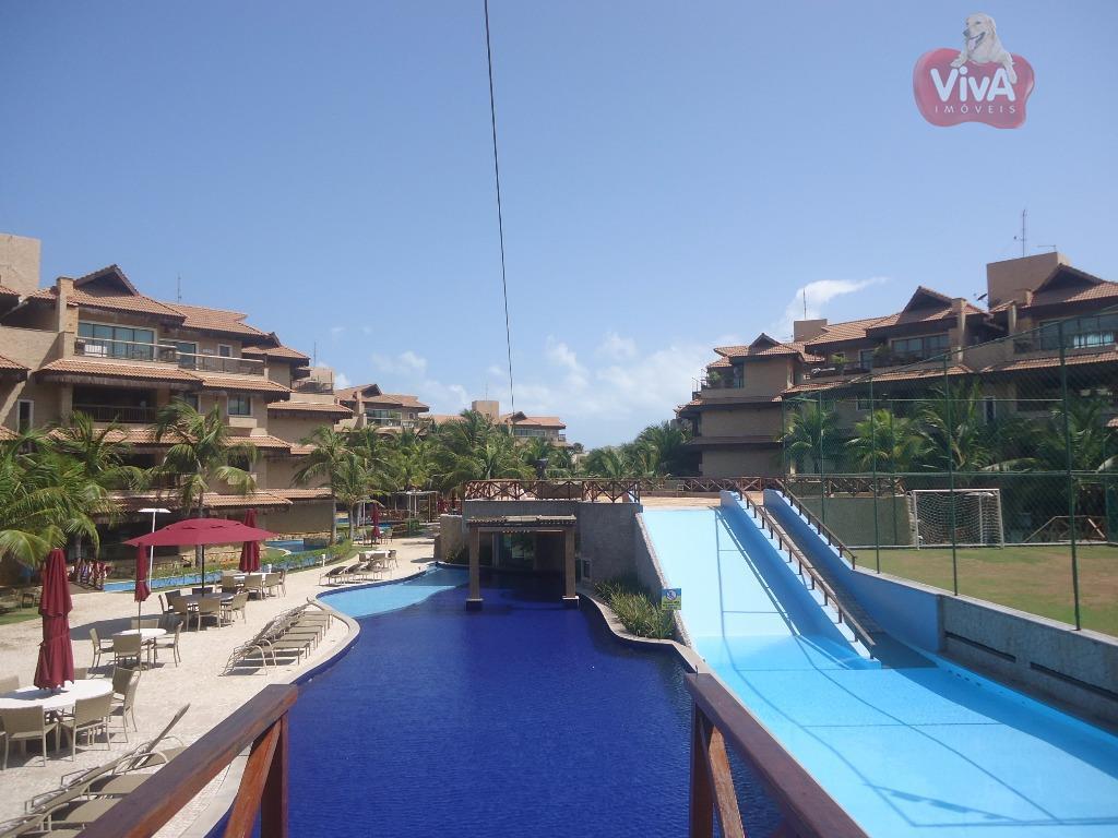 Apartamento praia à venda, Porto das Dunas, Aquiraz - AP4482.