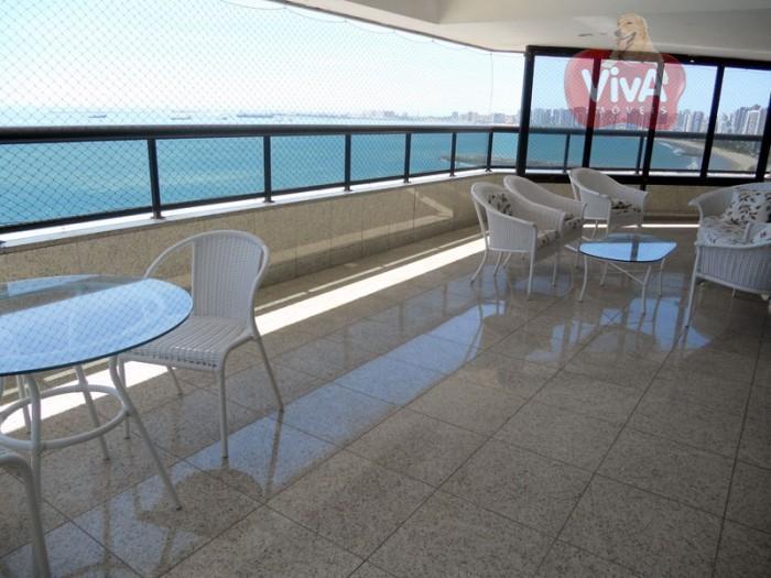 Apartamento na Beira Mar à venda, Meireles, Fortaleza - AP4864.