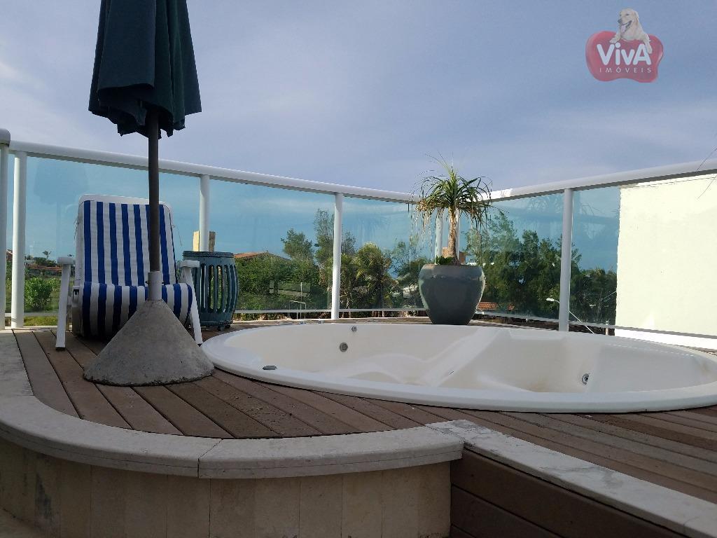 imagine-se recebendo seus convidados em um terraço a céu aberto, com vista de 180o para o...
