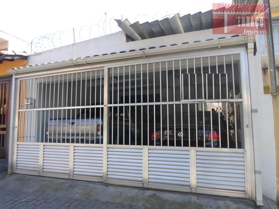 Casa residencial à venda, Vila Pires, Santo André.