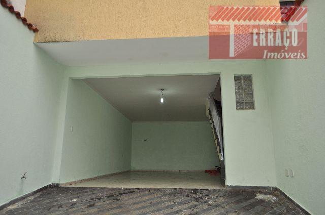 Sobrado residencial à venda, Parque das Nações, Santo André - SO0494.