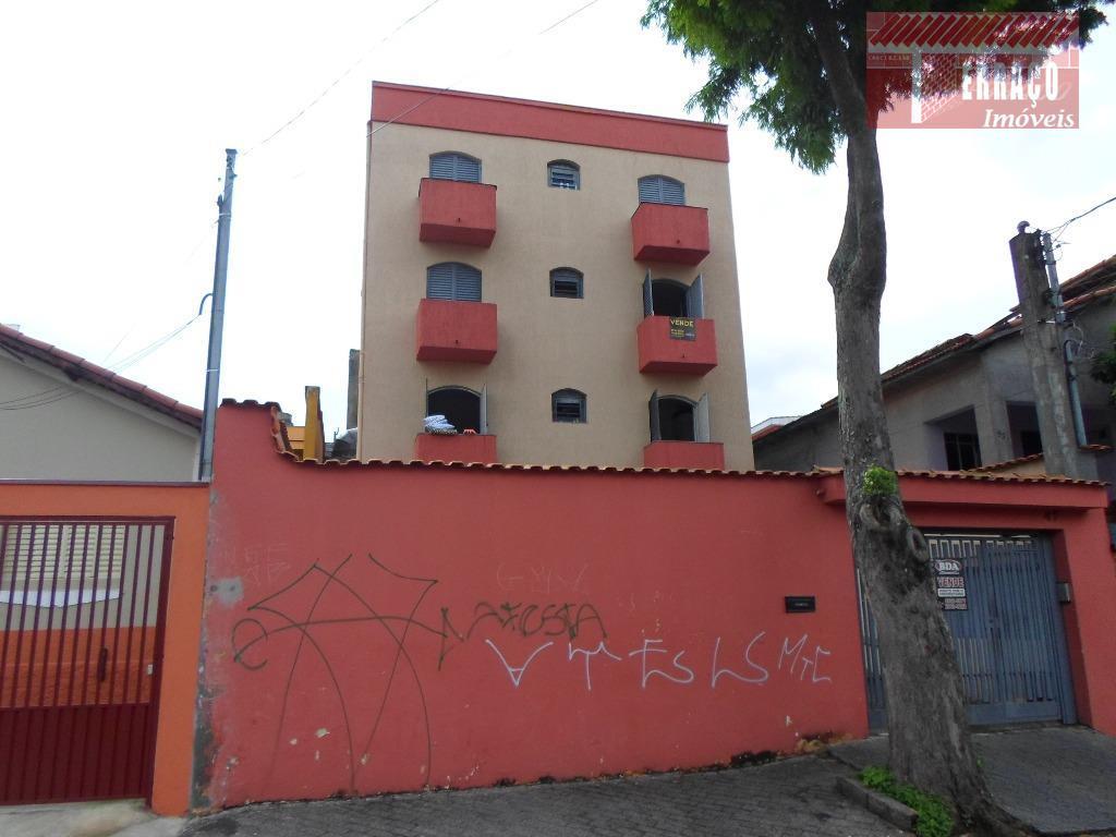 Apartamento residencial à venda, Vila Linda, Santo André.
