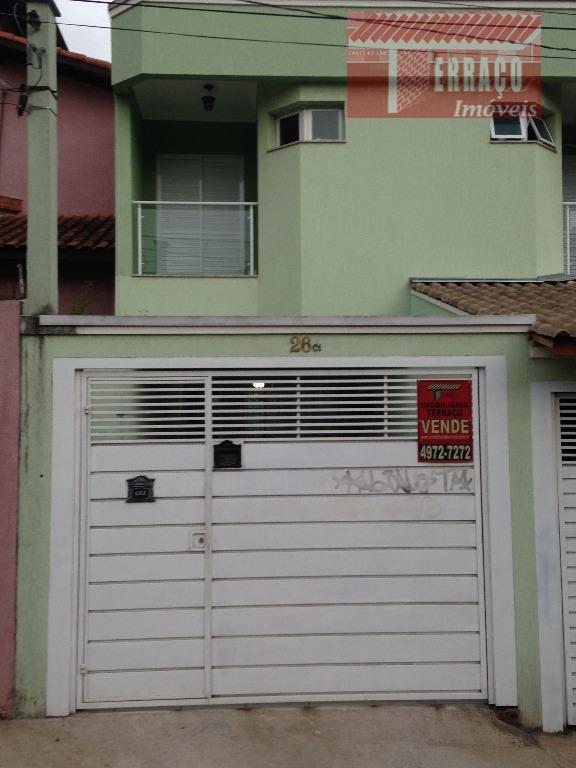 Sobrado  residencial à venda, Jardim Ipanema, Santo André.