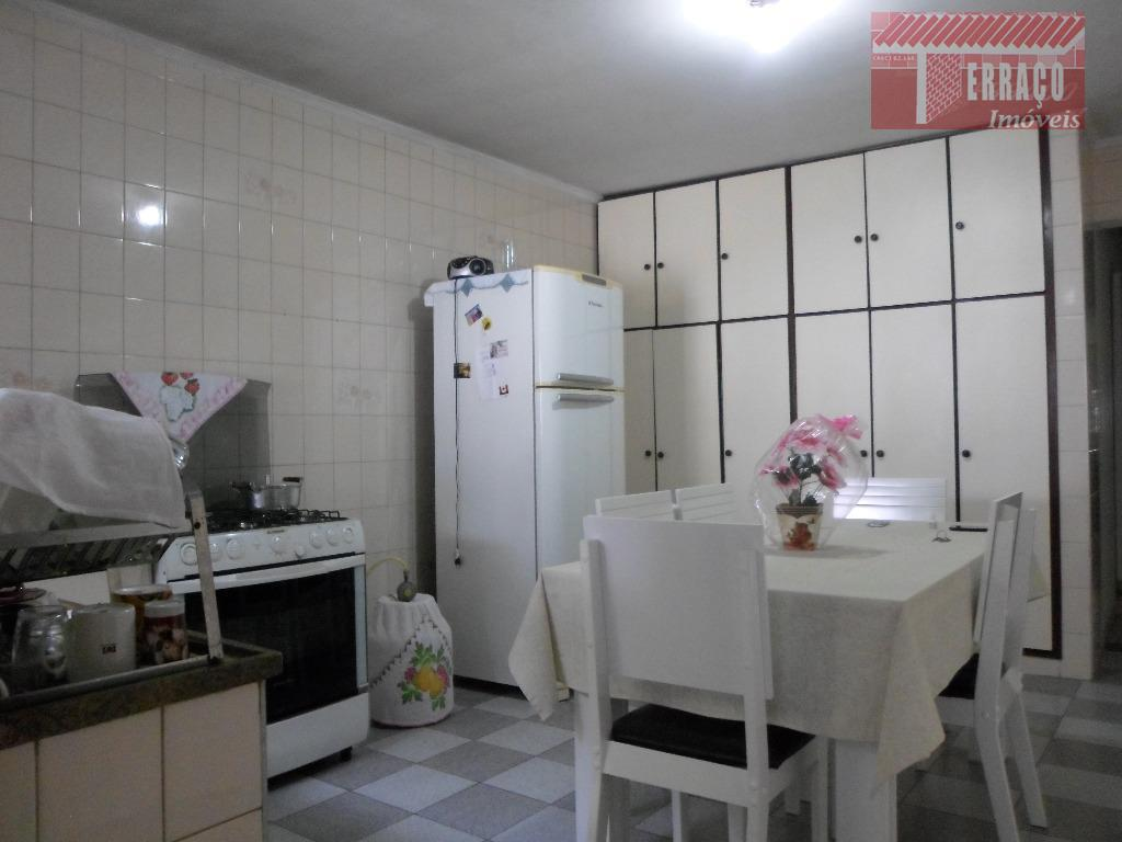 Sobrado residencial à venda, Jardim Aclimação, Santo André.