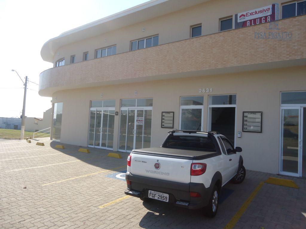 Sala comercial para locação, Parque dos Servidores, Paulínia - SA0122.