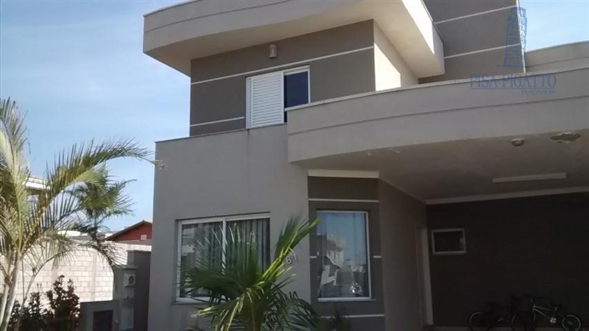 Casa residencial à venda, Condomínio Yucatan, Paulínia - CA1107.