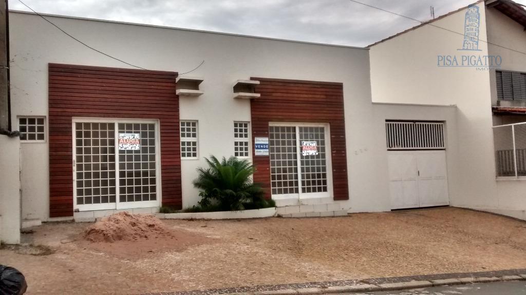 Salão comercial para locação, Vila Bressani, Paulínia - SL0153.