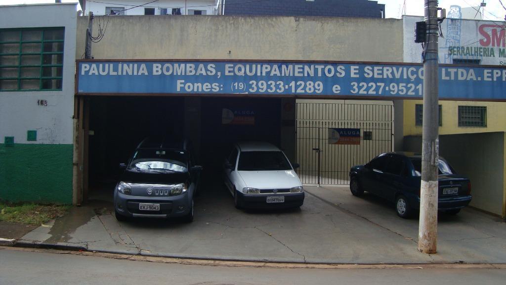 Salão comercial para locação, Jardim Fortaleza, Paulínia - SL0024.