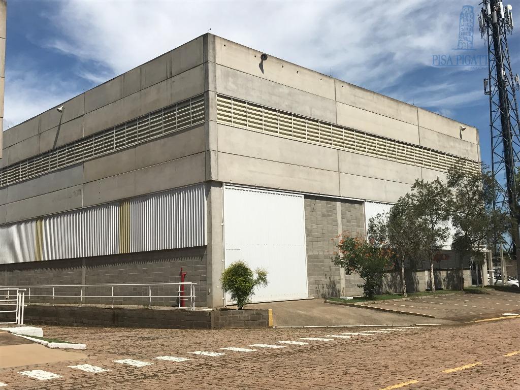 Galpão industrial para locação, Cascata, Paulínia - GA0012.